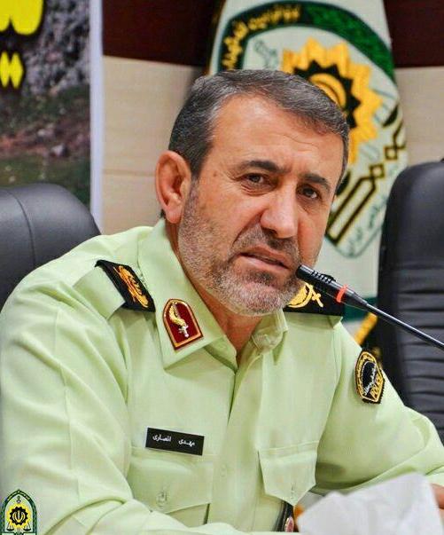 قاطعیت پلیس استان کهگیلویه و بویراحمد در اجرای طرح کاهش زنجیره انتقال بیماری کرونا