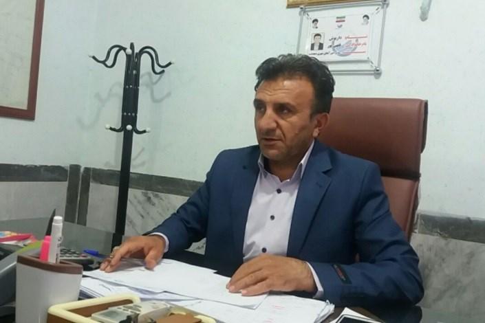 آسفالت مسیر روبروی بیمارستان امامخمینی دهدشت در چند روز آینده