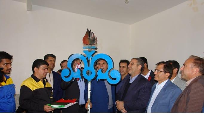 افتتاح ۱۰ پروژه گازرسانی به ۱۰ روستای شهرستان باشت(فاز دوم)