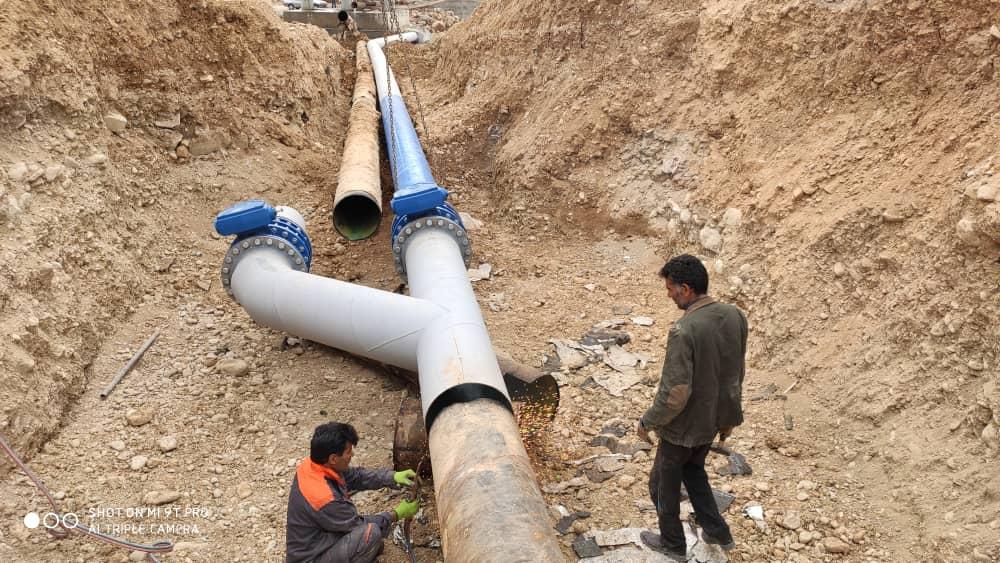 تدبیر آب و فاضلاب کارساز شد/ آشتی رود بشار با خط انتقال ۲۰ اینچ