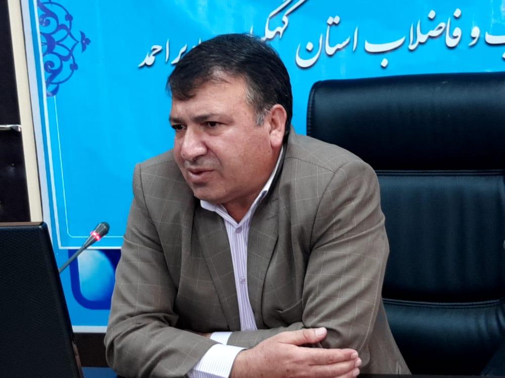 نگرانی در تصفیه فاضلاب شهر دهدشت وجود ندارد/ ارتقاء علمی تصفیه خانه فاضلاب در دستور کار می باشد