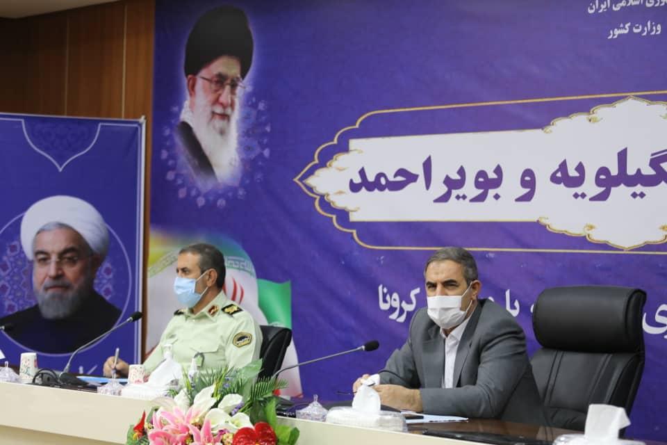 راه اندازی دستگاه تولید ماسک در کهگیلویه و بویراحمد/ فضای استان برای ایام محرم و صفر آماده شود