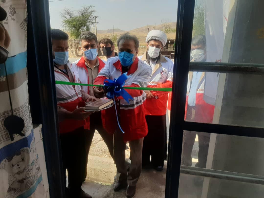 افتتاح همزمان ۷۲ خانه هلال در استان کهگیلویه و بویراحمد