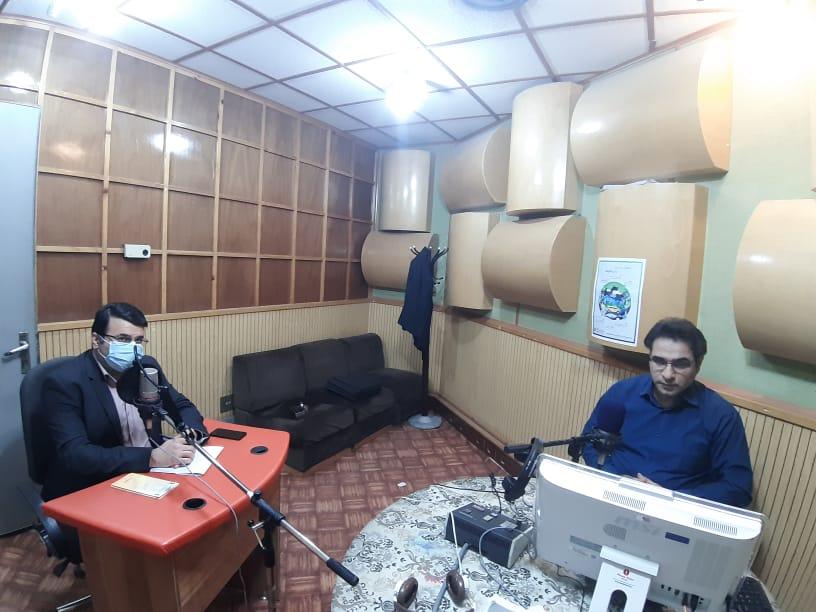 """حضور مدیرکل استاندارد استان کهگیلویه و بویراحمد در برنامه زنده رادیویی """"استان و توسعه"""""""