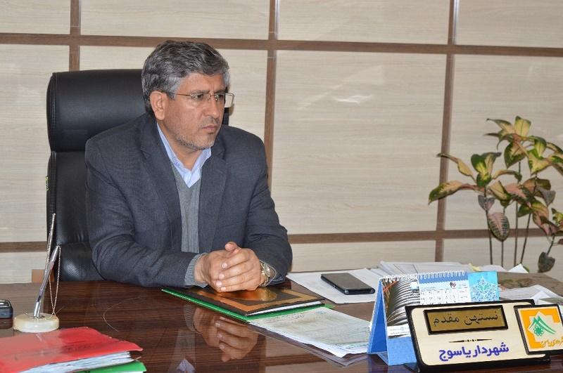 پیام تبریک شهردار یاسوج به مناسبت روز پرستار